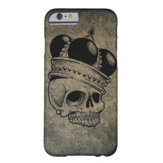 Crowned Skull Barely There Phone Case