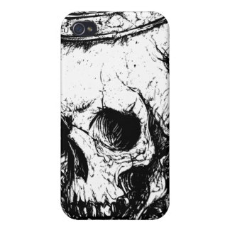 Crowned skull iphone4 case iPhone 4 cover