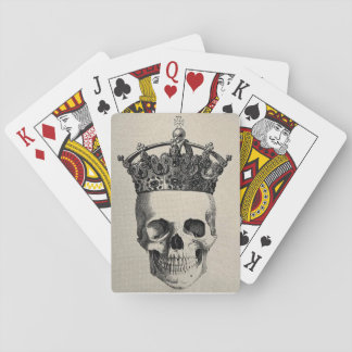 Crowned Skull Playing Cards