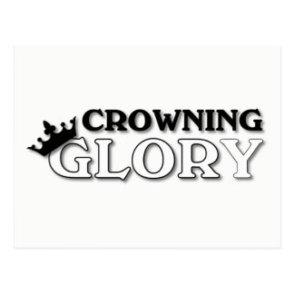 Crowning Glory Postcard