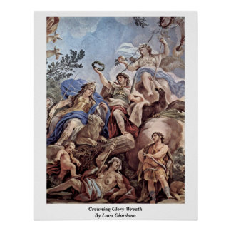 Crowning Glory Wreath By Luca Giordano Posters