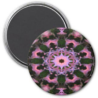 Crowns in Pink... 7.5 Cm Round Magnet