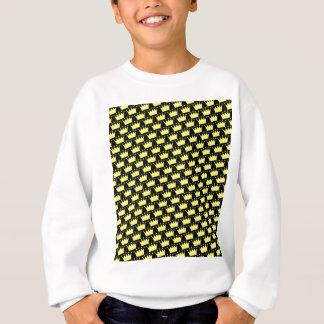 Crowns Pattern Sweatshirt