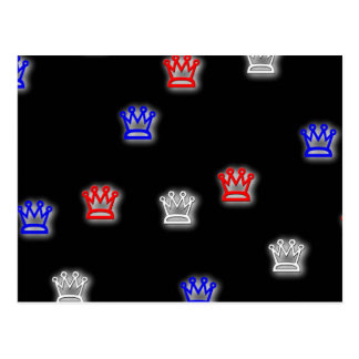 crowns postcard