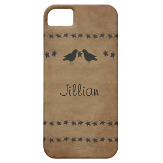 Crows and Stars iPhone 5 Case