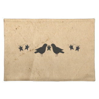 Crows And Stars Placemat