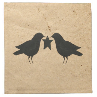 Crows With Star Napkin