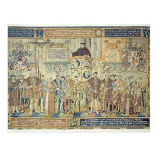 Croy Tapestry, 1554 Postcard