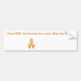 CRPS Awareness Bumper Sticker