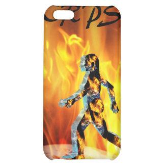 CRPS RSD FIre & Ice Blazin Lady O'Pain I4 Uni Cover For iPhone 5C