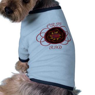 CRPS/RSD Lava Glow & Scroll Puppy Tee Pet T-shirt