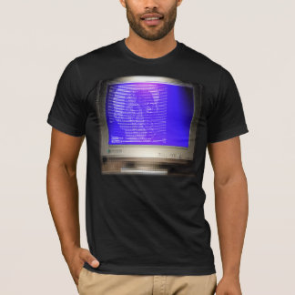 CRT-Screen-shirt ASCII ART Screen Shirt