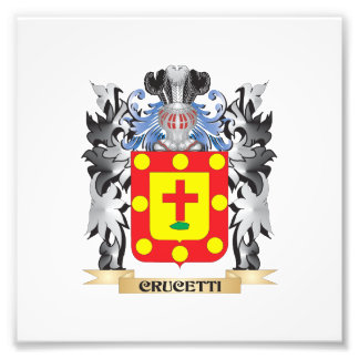 Crucetti Coat of Arms - Family Crest Photo Print