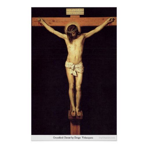 Crucified Christ by DiegoVelazquez Print