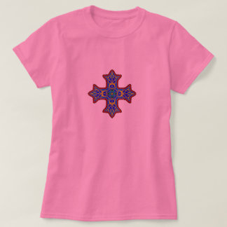 Crucifix coptic cross tshirt