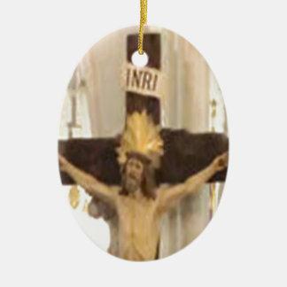 crucifix christmas tree ornaments