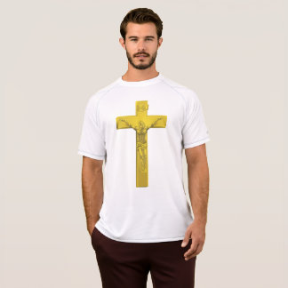 Crucifix Mens Active Tee