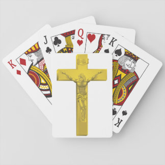 Crucifix Playing Cards