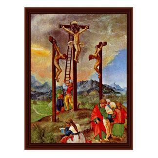 Crucifixion By Altdorfer, Albrecht Postcard