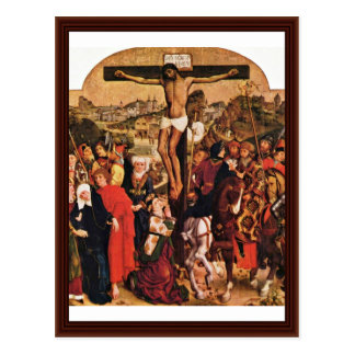 Crucifixion By Pleydenwurff Hans Postcards