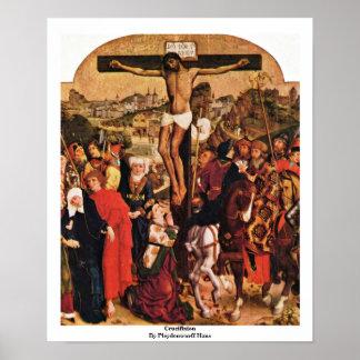 Crucifixion By Pleydenwurff Hans Print