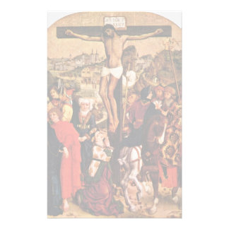 Crucifixion By Pleydenwurff Hans Personalized Stationery