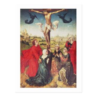 Crucifixion, c.1510 (oil on panel) postcard