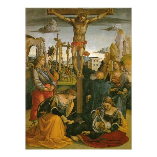 Crucifixion of Jesus Christ Photo Print