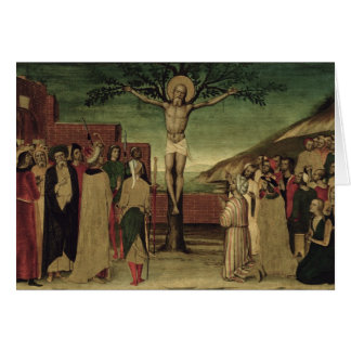 Crucifixion of St. Andrew Card