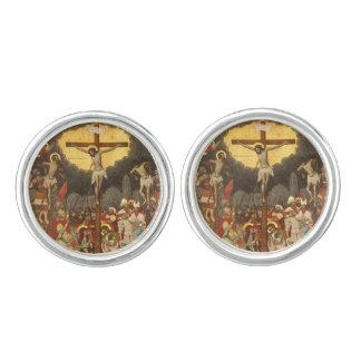 Crucifixion  Scene 1711 Cufflinks