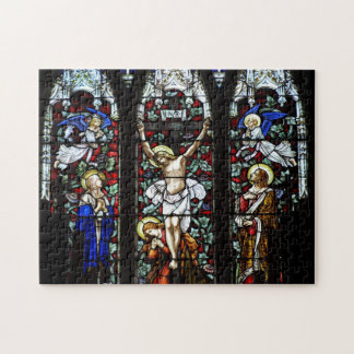 Crucifixion (Stained Glass) Puzzle