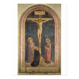 Crucifixion with the Virgin, SS. John the Evangeli Postcard