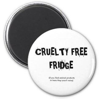 CRUELTY FREE FRIDGE MAGNET