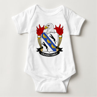 Cruger Family Crest Baby Bodysuit