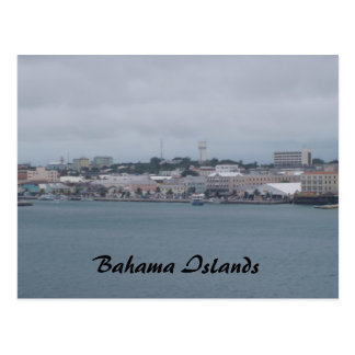 cruise 153, Bahama Islands Postcard