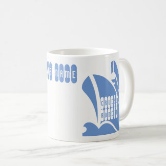 Cruise Addict. Personalise the Name Coffee Mug