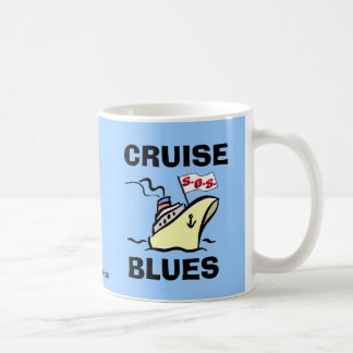 Cruise Blues - Carnival Splendor Coffee Mug