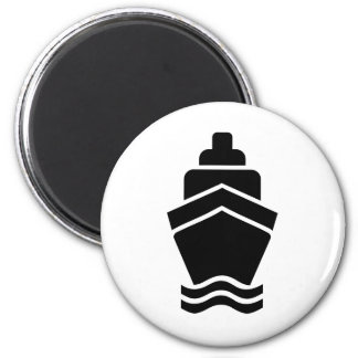 Cruise container ship refrigerator magnet