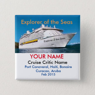 Cruise Critic Meet and Mingle Badge