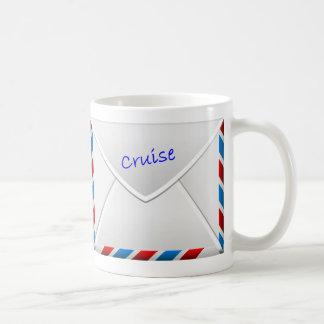 Cruise Envelope Basic White Mug