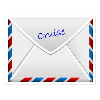 Cruise Envelope Postcard