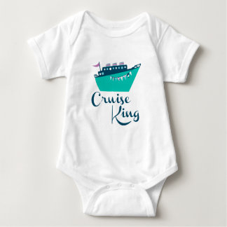 Cruise King Baby Bodysuit