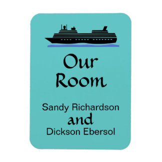 Cruise Magnet Cruise Ship Customizable Our Room ID