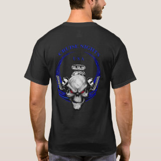 Cruise Nights USA / Blue T-Shirt