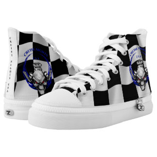 CRUISE NIGHTS USA / CHECKERED SNEAKERS