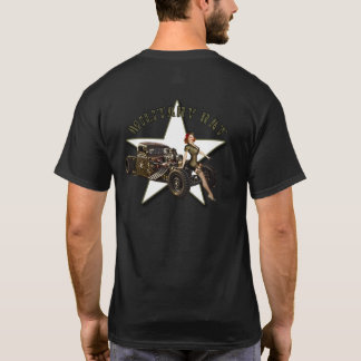 CRUISE NIGHTS USA / MITILARY RAT T-Shirt