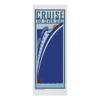 Cruise-Poster Poster