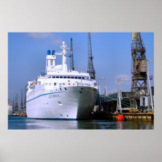"Cruise ship ""Astoria"", Southampton, England Posters"