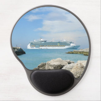 Cruise Ship at CocoCay Gel Mouse Pad
