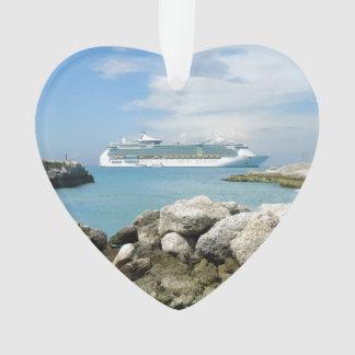 Cruise Ship at CocoCay Ornament